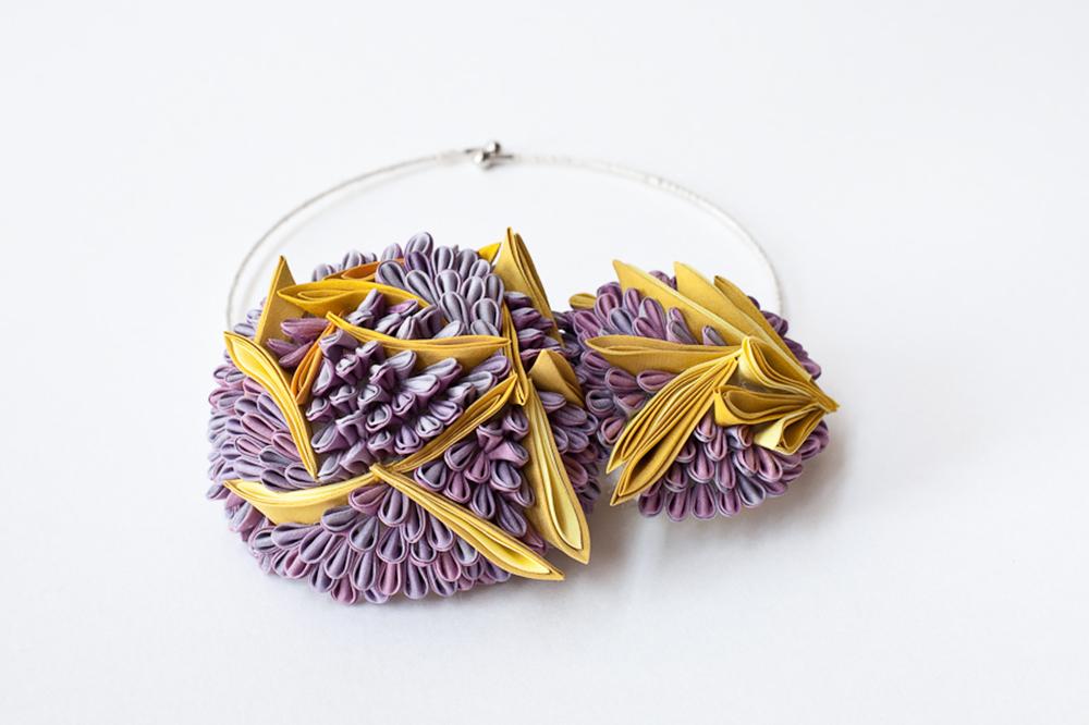 Bijoux en soie